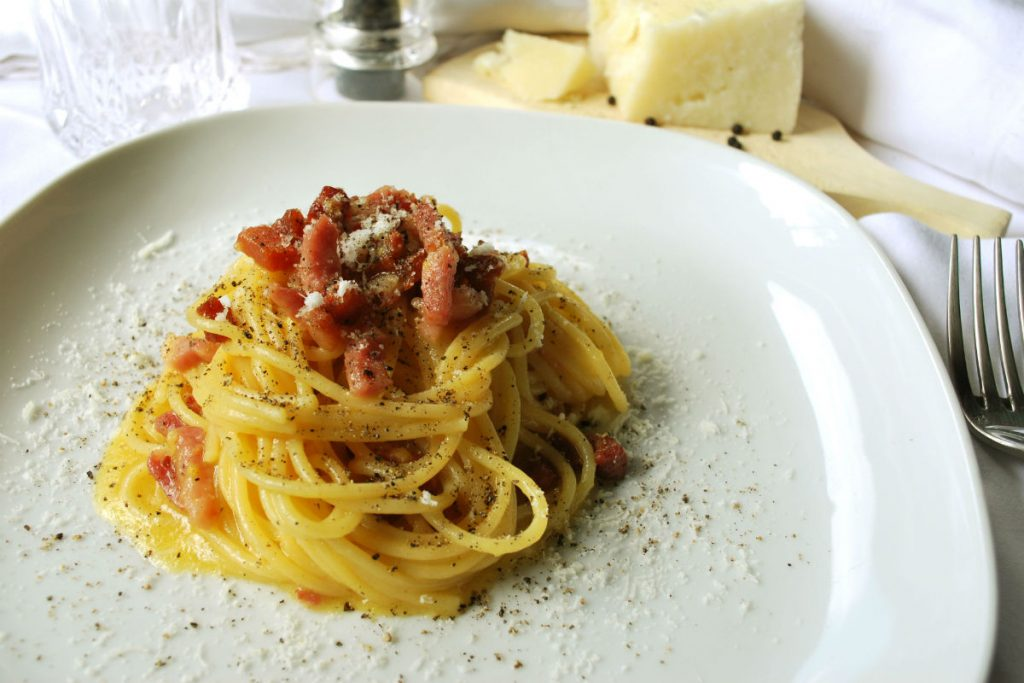 Spaghetti Carbonara original recipe